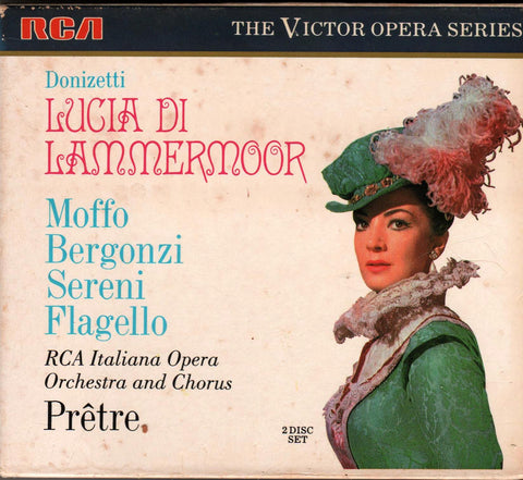 Donizetti - Lucia Di Lammermoor (Opera)-CDs-Palm Beach Bookery