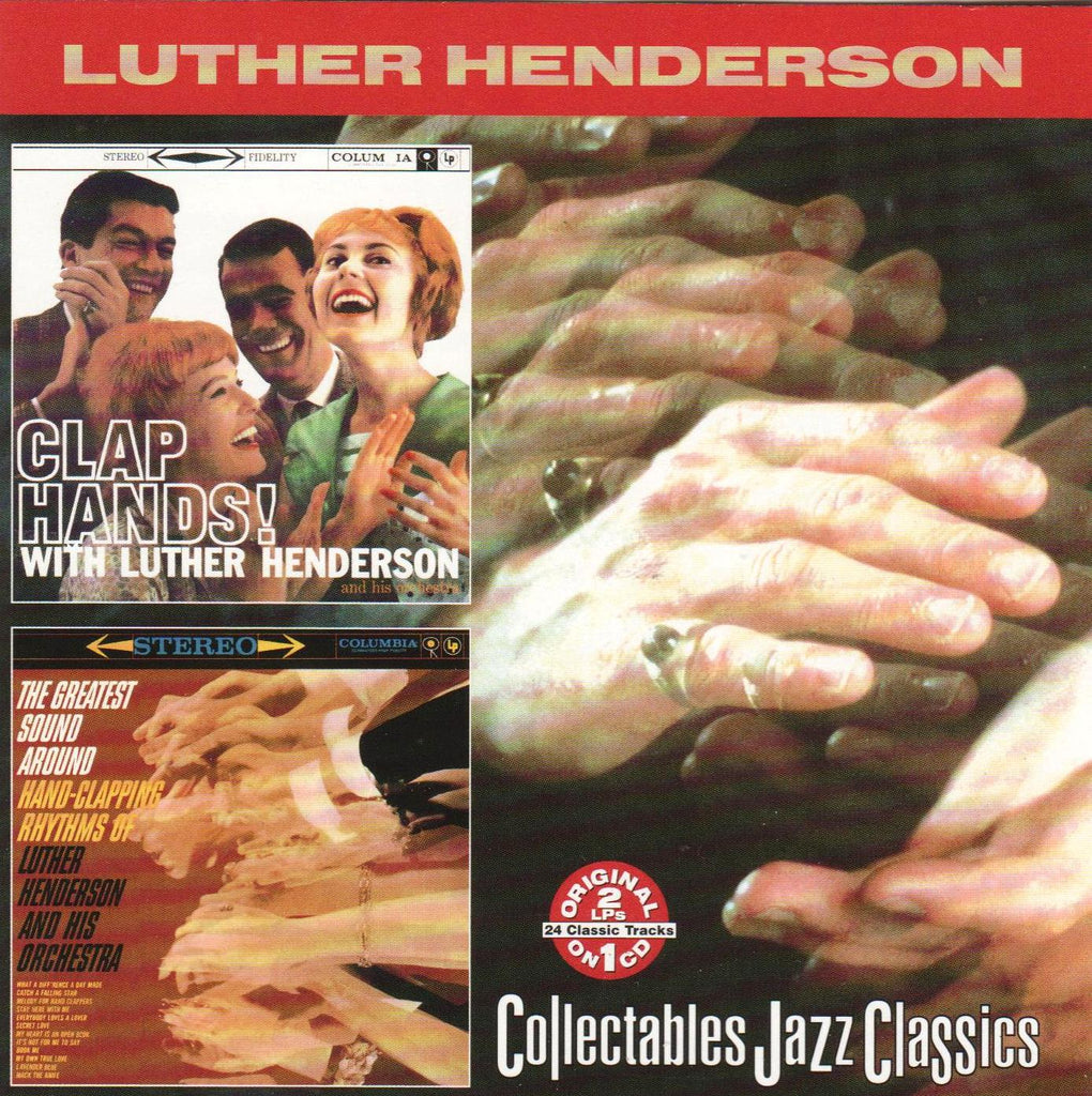 Luther Henderson - Clap Hands / Greatest Sound Around-CDs-Palm Beach Bookery