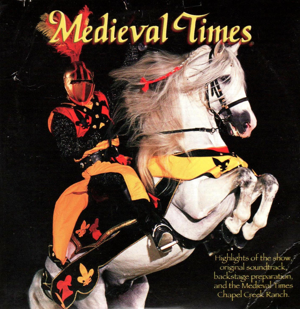Medieval Times (Highlights of Show, Original Soundtrack, Backstage Preparation, Live Performance)-CDs-Palm Beach Bookery