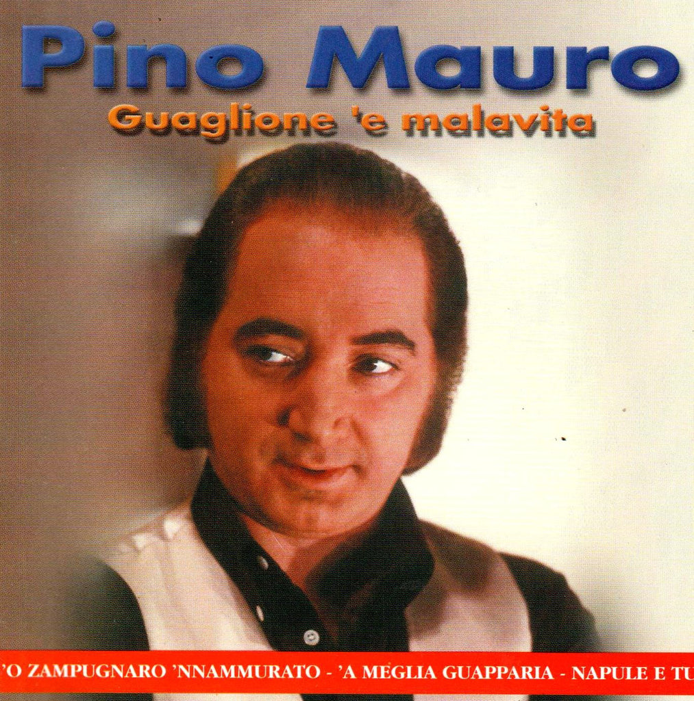 Pino Mauro - Guaglione 'e malavita-CDs-Palm Beach Bookery