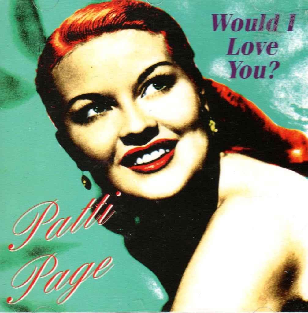 Patti Page - Would I Love You?-CDs-Palm Beach Bookery