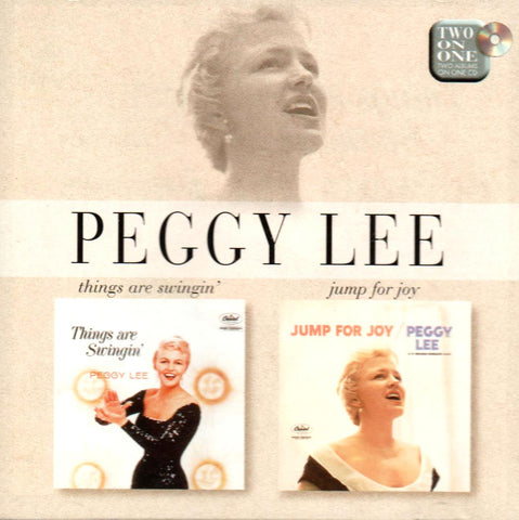 Peggy Lee - Things Are Swingin' / Jump For Joy-CDs-Palm Beach Bookery