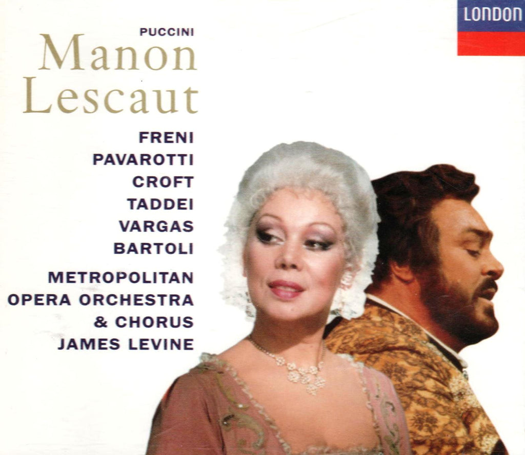Puccini - Manon Lescaut (OPERA)-CDs-Palm Beach Bookery