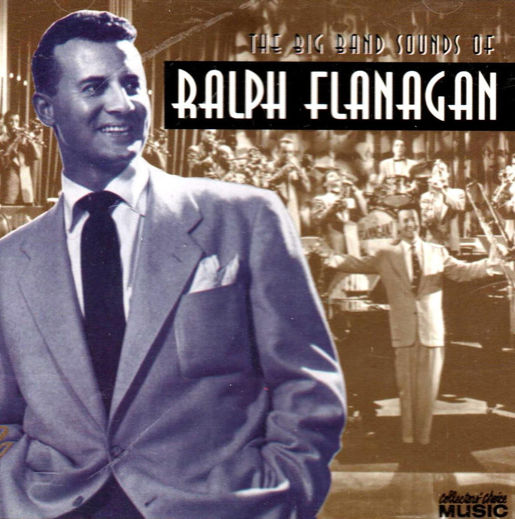Ralph Flanagan - Big Band Sounds of Ralph Flanagan-CDs-Palm Beach Bookery
