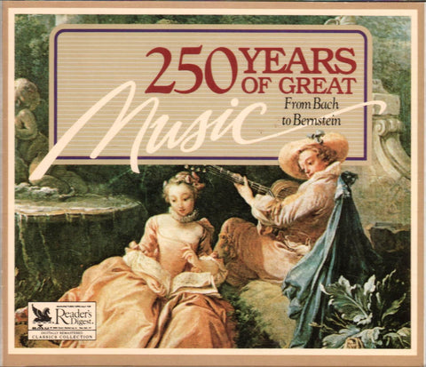 Reader's Digest - 250 Years of Great Music From Bach to Bernstein (1992-05-03)-CDs-Palm Beach Bookery