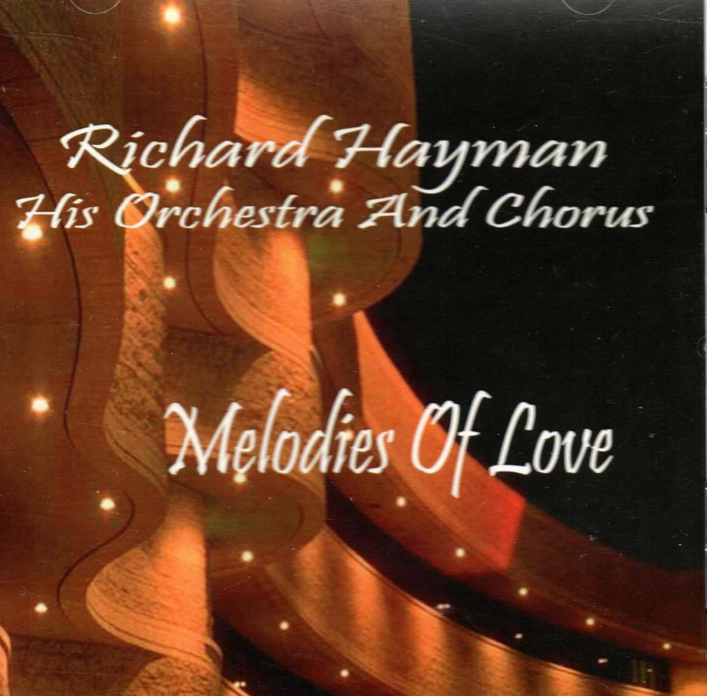 Richard Hayman & His Orchestra - Melodies Of Love-CDs-Palm Beach Bookery