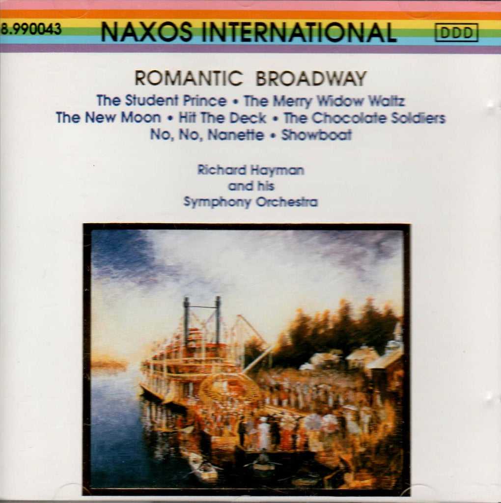 Richard Hayman and His Orchestra - Romantic Broadway-CDs-Palm Beach Bookery