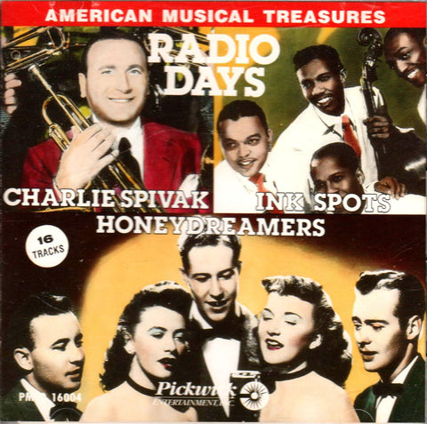 Various Artists - American Musical Treasures Radio Days-CDs-Palm Beach Bookery