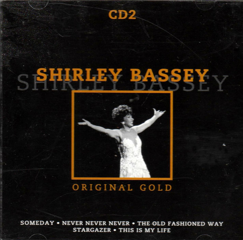 Shirley Bassey - Shirley Bassey: Original Gold CD 2-CDs-Palm Beach Bookery