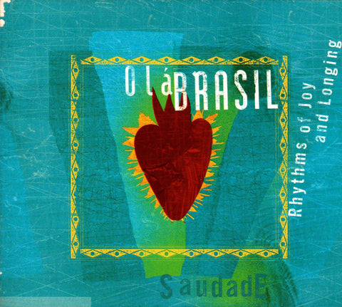Barious Artists - Olá Brasil ( Rhythms Of Joy and Longing (Saudade)-CDs-Palm Beach Bookery