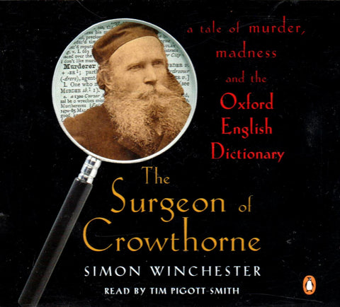 Simon Winchester - The Surgeon Of Crowthorne (Audiobook)-Audio Books-Palm Beach Bookery