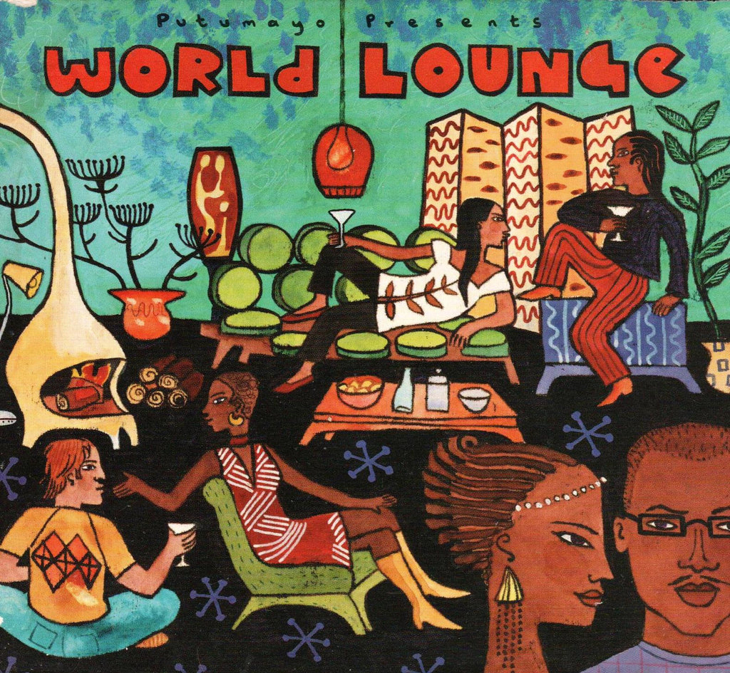 Putumayo - World Lounge-CDs-Palm Beach Bookery
