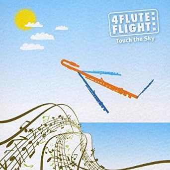 4 Flute Flight - Touch The Sky - Palm Beach Bookery