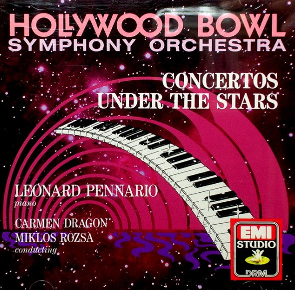 Leonard Pennario - Concertos Under the Stars-CDs-Palm Beach Bookery