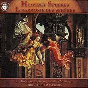 Christopher Jackson - Heavenly Spheres (L'harmonie des Spheres)-CDs-Palm Beach Bookery