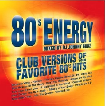Various Artists - 80s Energy (Mixed By DJ Johnny Budz)-CDs-Palm Beach Bookery