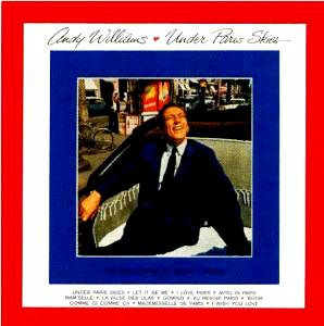 Andy Williams - Under Paris Skies-CDs-Palm Beach Bookery