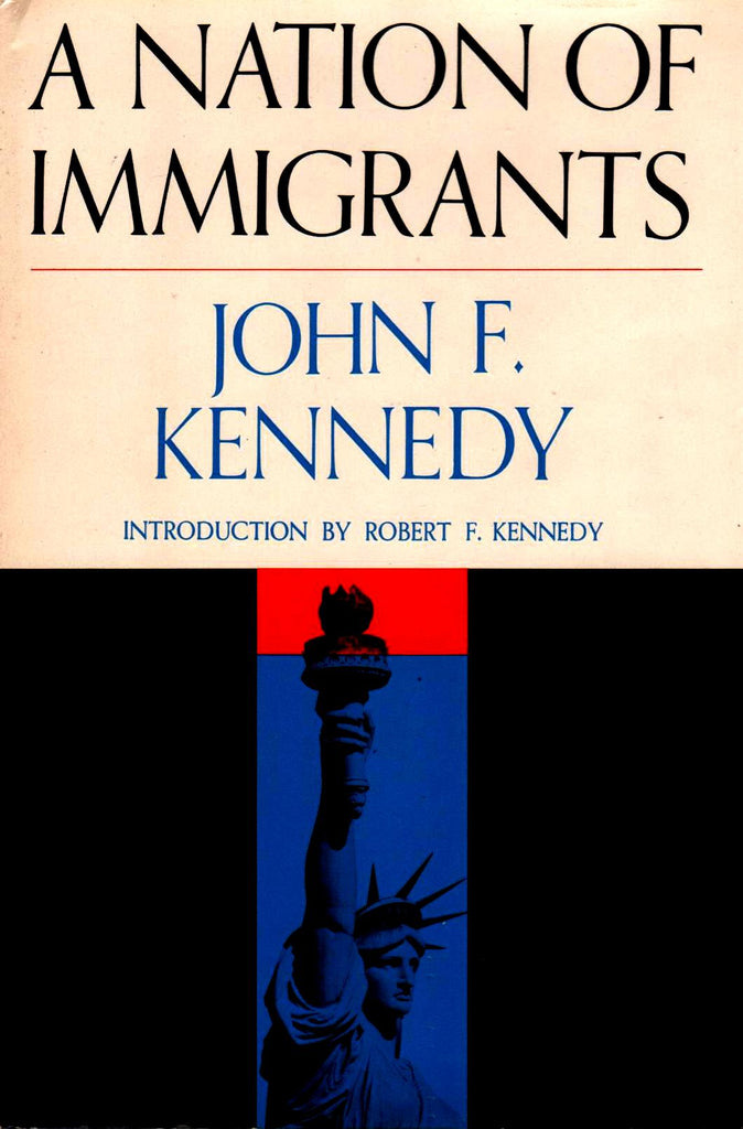 A Nation Of Immigrants - By John F. Kennedy-Books-Palm Beach Bookery