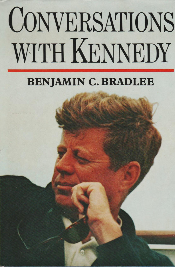 Conversations With Kennedy By: Benjamin C. Bradlee-Books-Palm Beach Bookery