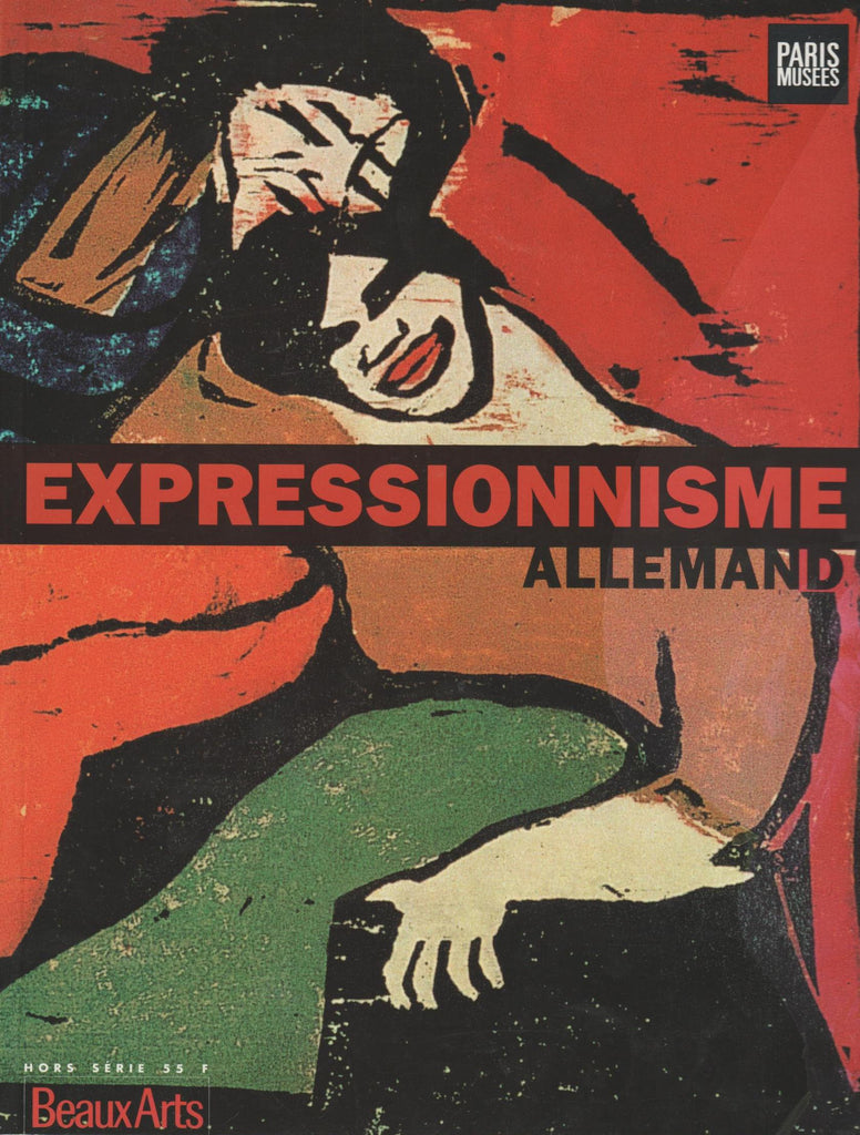 EXPRESSIONNISME ALLEMAND 1905-1914.-Book-Palm Beach Bookery