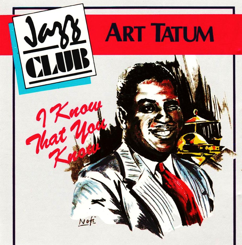 Art Tatum - I know that you know-CDs-Palm Beach Bookery