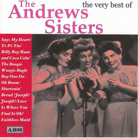 Andrews Sister - The Very Best of-CDs-Palm Beach Bookery