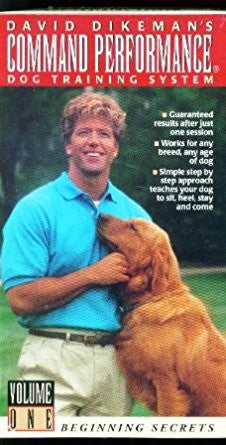 David Dikeman's Command Performance Dog Training System - Volume 1 (VHS)-VHS Tapes-Palm Beach Bookery