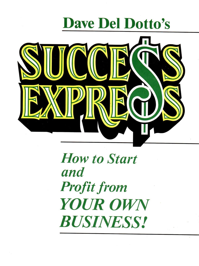Dave Del Dotto's Success Express-Book-Palm Beach Bookery
