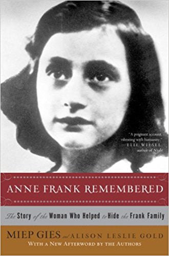 Anne Frank Remembered: The Story of The Woman Who Helped to Hide the Frank Family-Book-Palm Beach Bookery