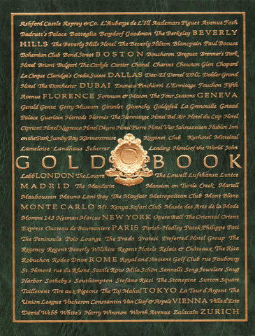 Goldbook Sine Qua Non-Book-Palm Beach Bookery
