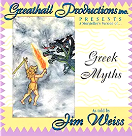 John Weiss - Greek Myths-CDs-Palm Beach Bookery