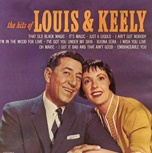 Louis Prima & Keely Smith - Hits of Louis & Keely-CDs-Palm Beach Bookery