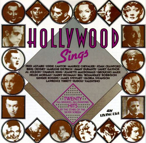 Various Artists - Hollywood Sings [Soundtrack]-CDs-Palm Beach Bookery