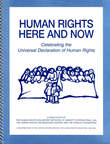 Human Rights Here and Now: Celebrating the Universal Declaration of Human Rights-Book-Palm Beach Bookery