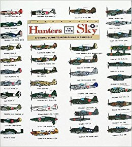 Hunters in the Sky. a Visual Guide to World War II Aircraft-Book-Palm Beach Bookery