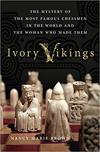 Ivory Vikings: The Mystery of the Most Famous Chessmen in the World and the Woman Who Made Them-Book-Palm Beach Bookery