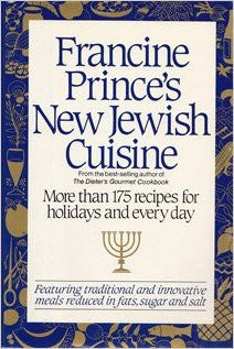 Francine Prince's New Jewish Cuisine-Book-Palm Beach Bookery