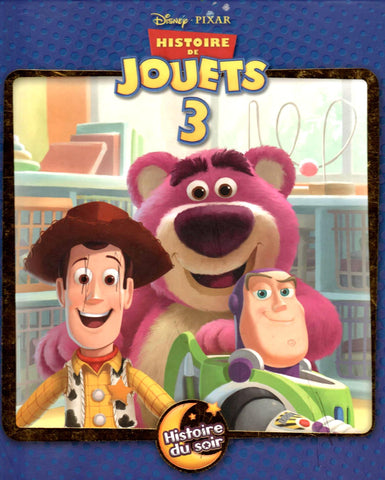 Disney - Histoire de jouets 3 (Toy Story 3 FRENCH)-Book-Palm Beach Bookery