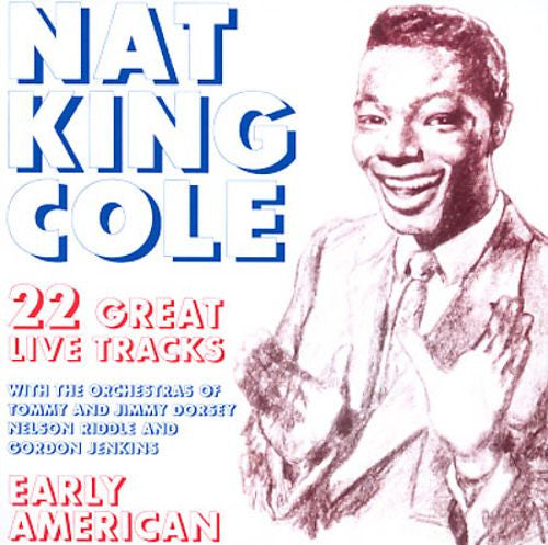 Nat King Cole - Early American-CDs-Palm Beach Bookery