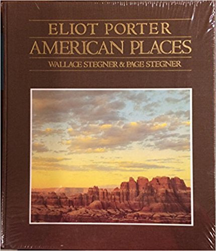 Eliot Porter American Places-Book-Palm Beach Bookery