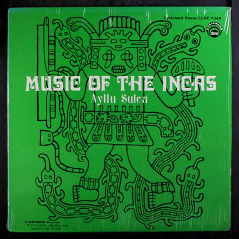 Ayllu Sulca - Music of the Incas-CDs-Palm Beach Bookery