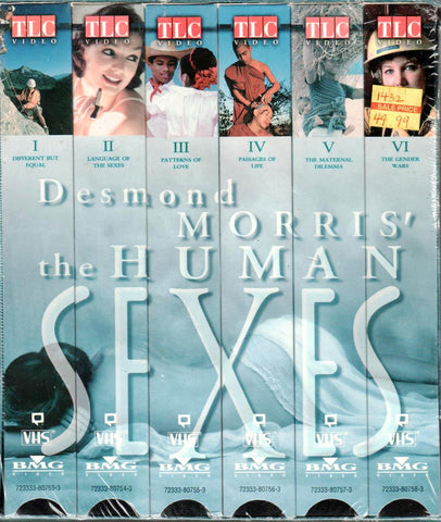 Desmond Morris' The Human Sexes [VHS]-VHS Tapes-Palm Beach Bookery