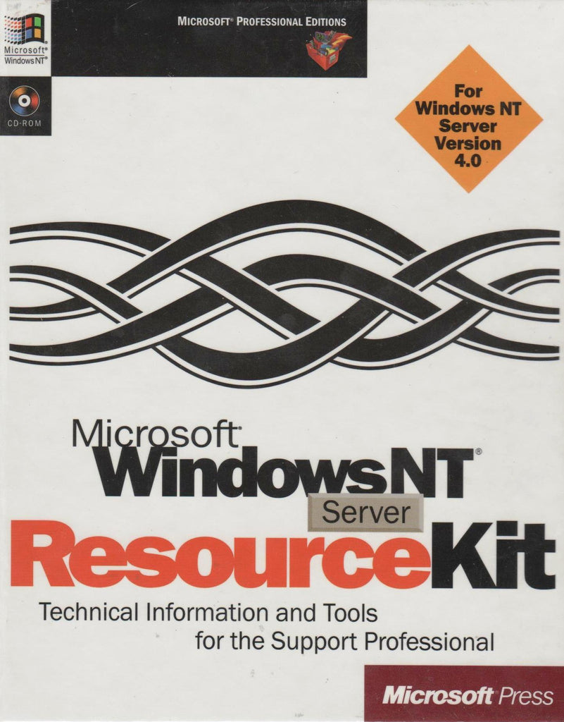 Microsoft NT Server Resource Kit (Microsoft Professional Editions)-Books CDROM-Palm Beach Bookery