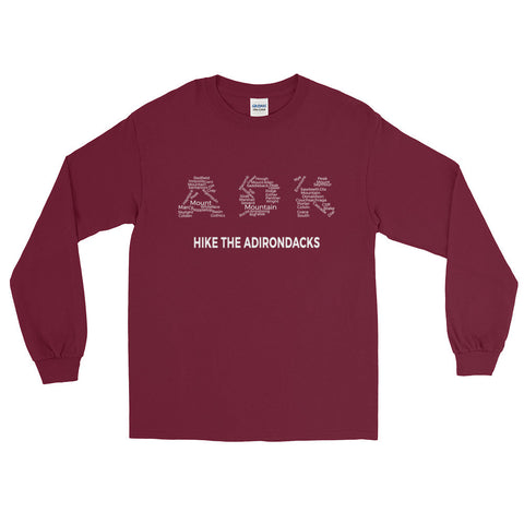 Adirondack High Peaks Red Long Sleeve Shirt