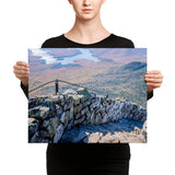 Adirondack Canvas Wall Art | Whiteface Mountain | Lake Placid | Adirondack Mountains, NY  | Canvas Wall Art | Adirondack Home Goods