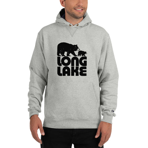 Long Lake Champion Hoodie | Gray Adirondack Sweatshirt | Adirondack Apparel