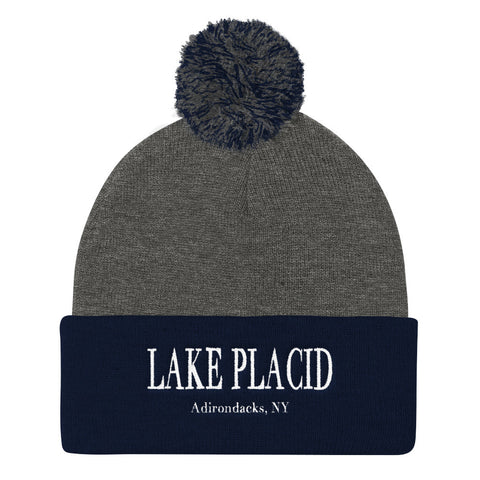 Lake Placid Pom Pom Beanie | Adirondack Apparel