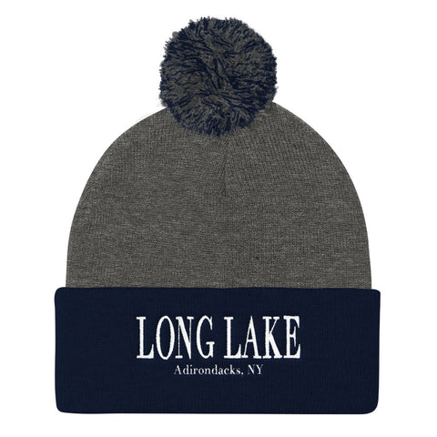 Long Lake Pom Pom Beanie | Adirondack Apparel