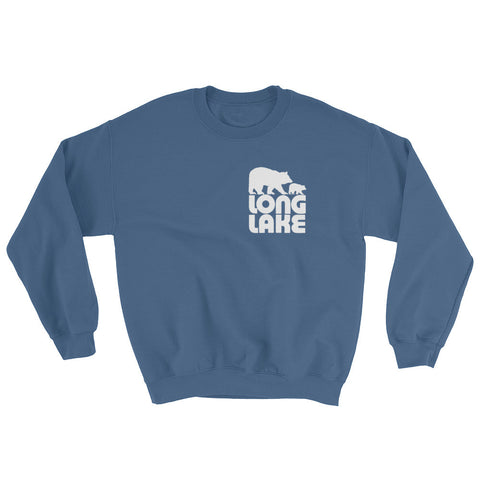 Long Lake Logo Crewneck Sweatshirt | Adirondack Apparel
