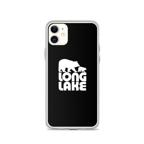 Long Lake iPhone Case | Long Lake Logo iPhone Case | Adirondack Home Goods